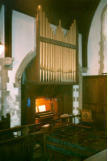 Corps organ in Letty Green Church.